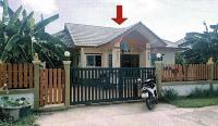 บ้านเดี่ยวหลุดจำนอง ธ.ธนาคารอาคารสงเคราะห์ สุพรรณบุรี บางปลาม้า โคกคราม